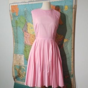 Vintage Pink polka dot dress